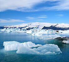 Jokulsarlon Lagoon - Iceland by Nicola Barnard