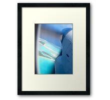 Aitutaki Aerial View Framed Print