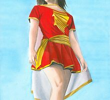 Mary Marvel by Anthony Billings
