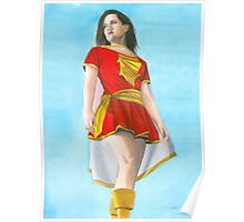 Mary Marvel Poster