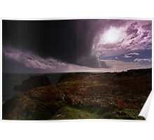 Tornado Sky - Pembrokeshire Poster