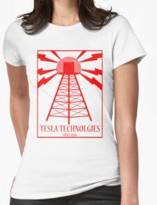 Tesla Technologies Womens Fitted T-Shirt