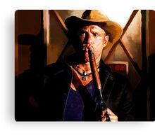 ZombieLand - Tallahassee Canvas Print