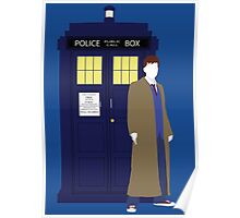 Ten and the TARDIS Poster