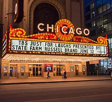 Chicago Theater  by photo-lab