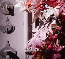 Fall colors pink & grey by LManfredi