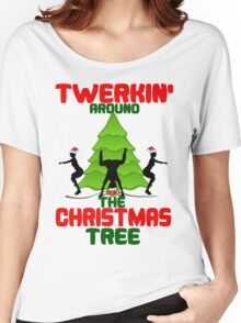 Twerk'n around the Christmas tree Women's Relaxed Fit T-Shirt