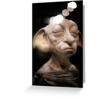 Harry Potter: Dobby Greeting Card