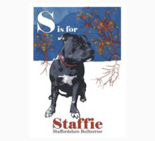S is for Staffie T-Shirt