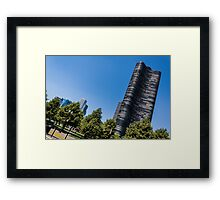 Chicago The Windy City... Framed Print