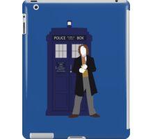 Eight and the TARDIS iPad Case/Skin
