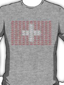 Bike Flag Switzerland (Small) T-Shirt