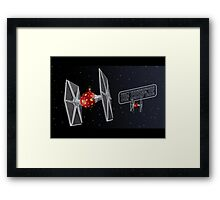 Don't Underestimate the Power of the Merry Side. Framed Print