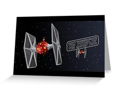 Don't Underestimate the Power of the Merry Side. Greeting Card