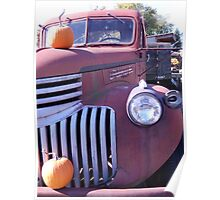Old Farmstand Truck Poster