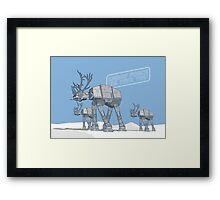 Merry Force Be With You Framed Print