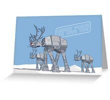 Merry Force Be With You Greeting Card