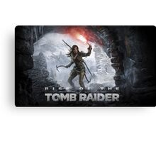 Rise of the Tomb Rider Canvas Print