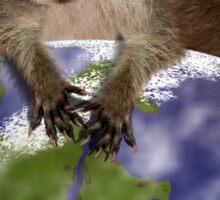 Earth Day Everyday Raccoon Sticker