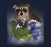 Earth Day Raccoon Kids Clothes