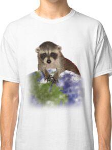 Earth Day Raccoon Classic T-Shirt