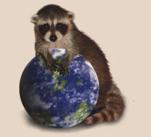 Earth Day Raccoon by jkartlife