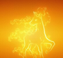Rapidash iPhone Case by NellyMushBean