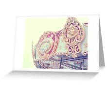 Carnival Carousel Greeting Card