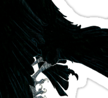 Black Raven Sticker