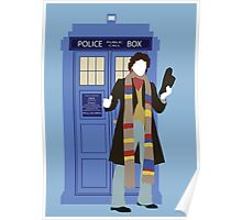 Four and the TARDIS Poster