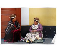 Coca Leaf Readers Poster