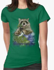 Celebrate Earth Day Raccoon T-Shirt