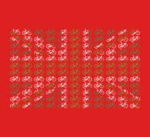Bike Flag United Kingdom (Green - Small) Kids Clothes