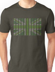 Bike Flag United Kingdom (Green - Small) Unisex T-Shirt