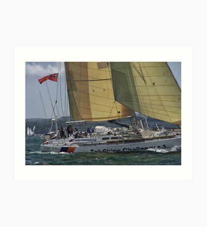 Tall Ships Challenger 1 Art Print