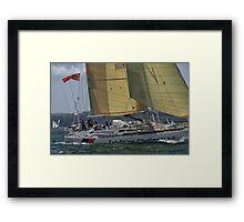 Tall Ships Challenger 1 Framed Print