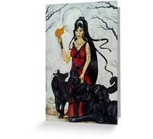 Hecate Greeting Card