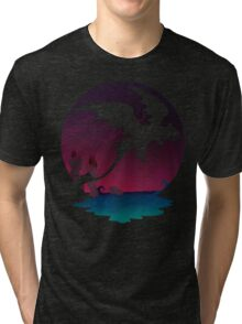 Night Flight  Tri-blend T-Shirt
