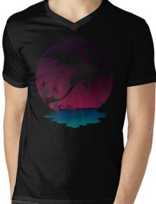 Night Flight  Mens V-Neck T-Shirt