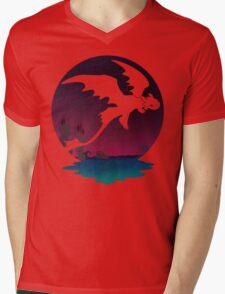 Night Flight  Mens V-Neck T-Shirt