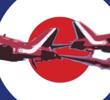 Red Arrows Sticker