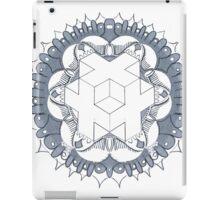 Sacred Cube Mandala iPad Case/Skin