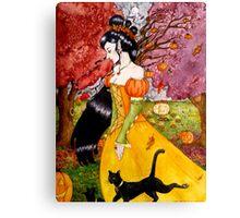 Pumpkin Queen Canvas Print