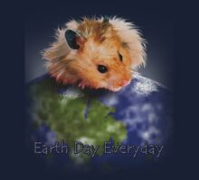 Earth Day Everyday Hamster One Piece - Short Sleeve
