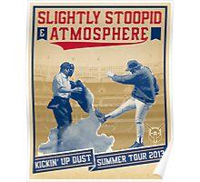 Kickin'  Up Dust Tour 2013 Poster