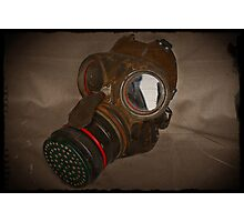 Steampunk Retro Respirator Photographic Print