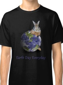 Earth Day Everyday Bunny Classic T-Shirt