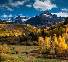 Autumn Color in the Sneffels Range by Paul Gana