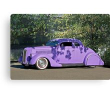 1936 Ford 'Praise the Low'rd' Coupe Canvas Print