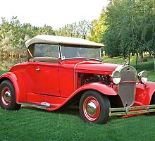 1931 Ford Model A Roadster by DaveKoontz